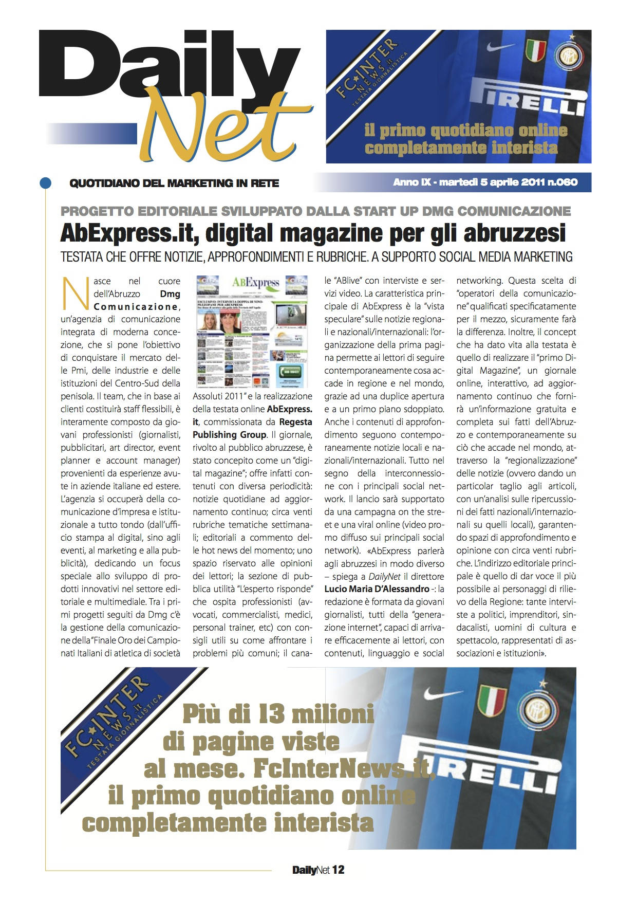 Daily Net 5 aprile