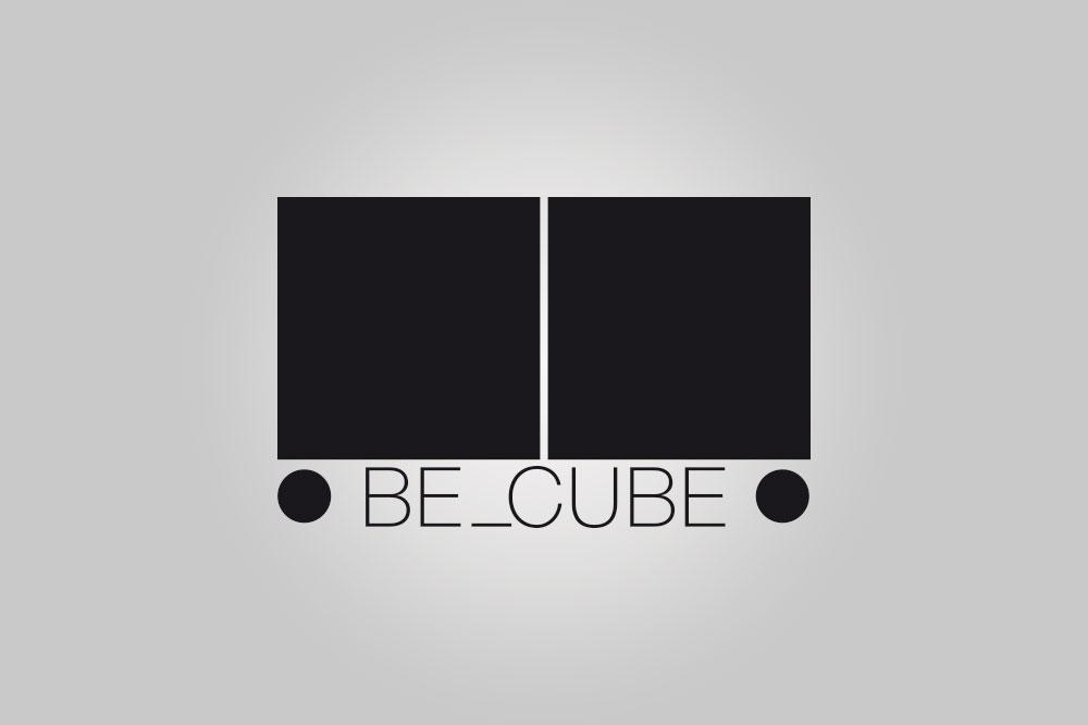 BE_CUBE: progettazione marchio e immagine coordinata
