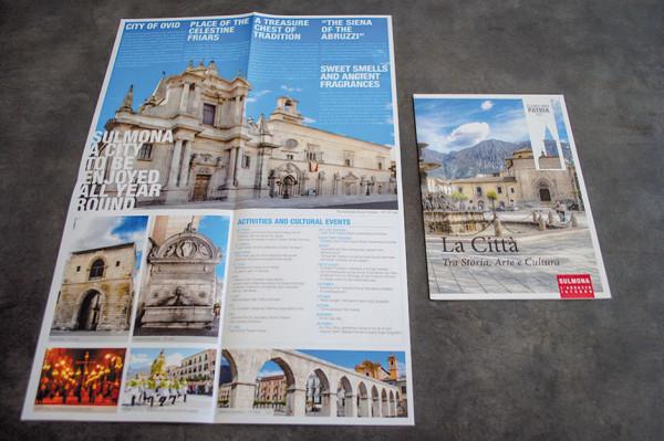 Pieghevoli tematici sulla città di Sulmona