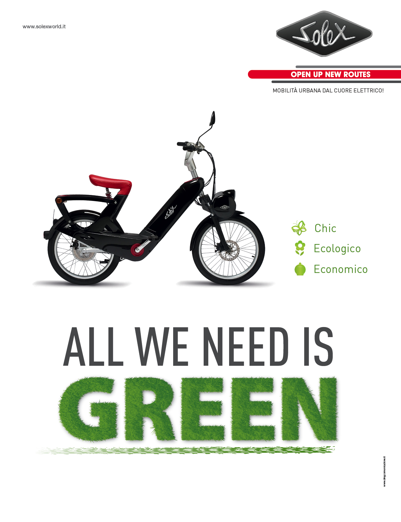 """Solex: campagna pubblicitaria """"Green"""""""