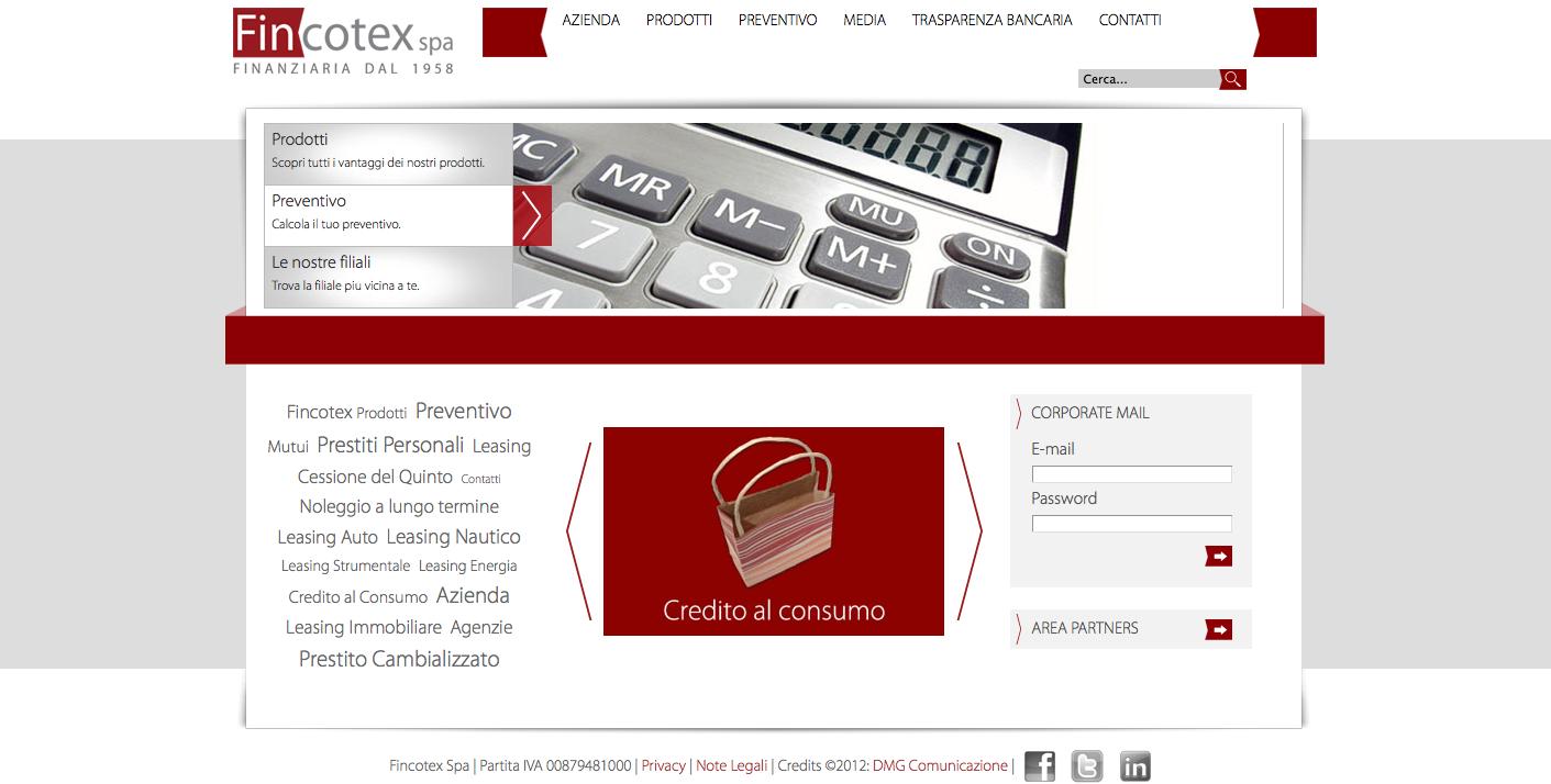 Fincotex spa: sito web
