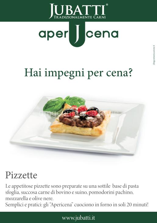 Nuova Linea Jubatti: Apericena