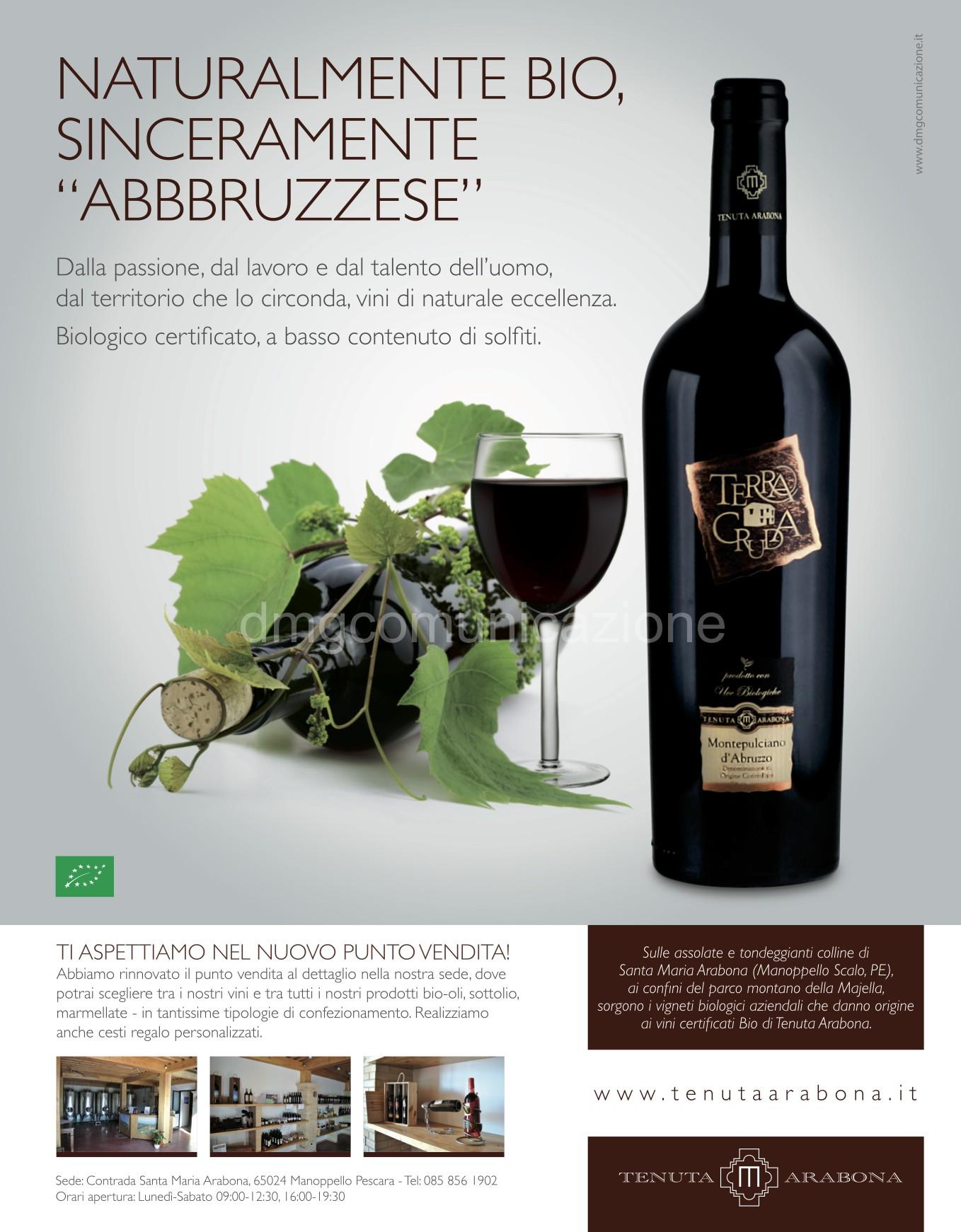 Tenuta Arabona: adv Abruzzo Impresa dic2013