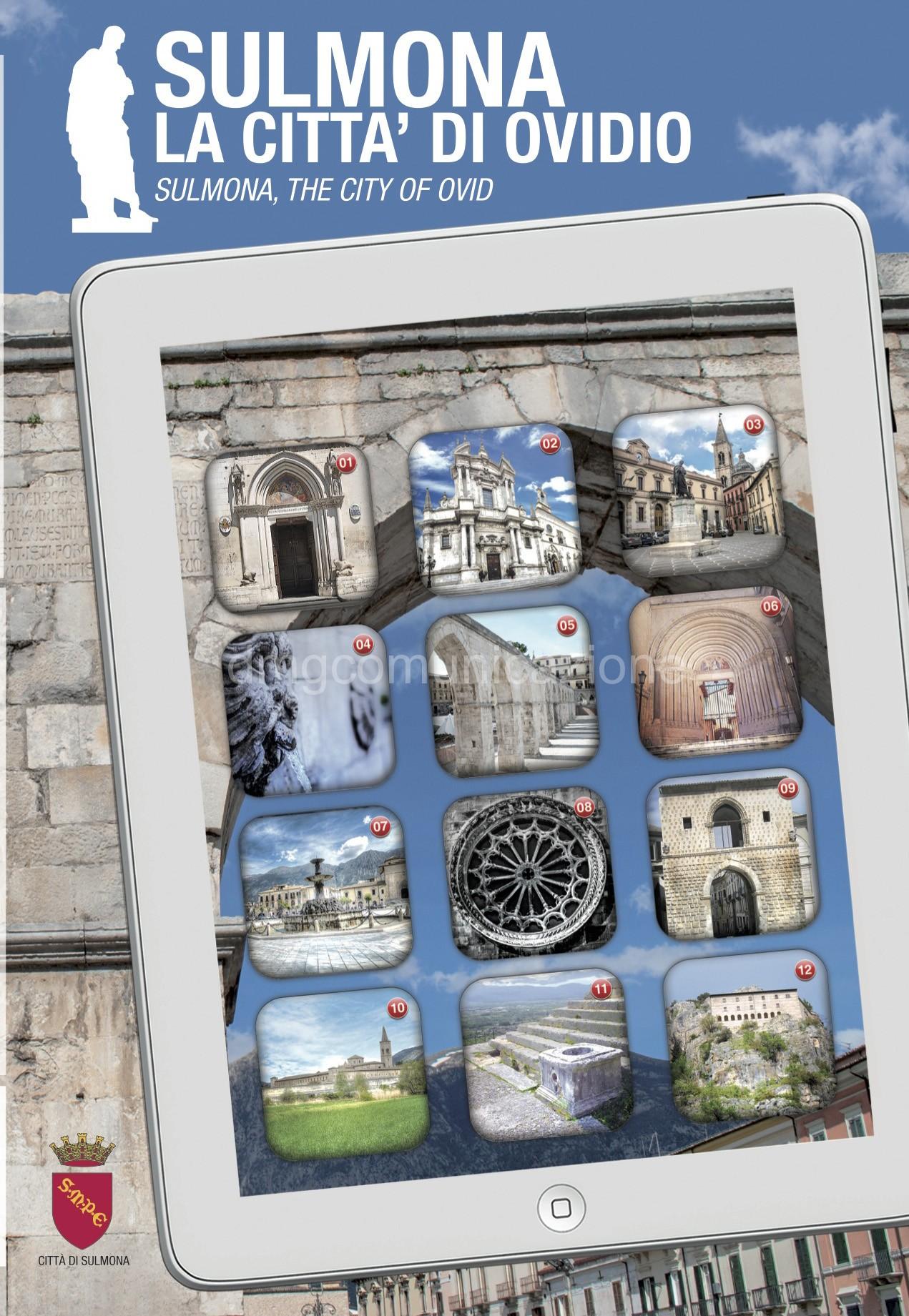 copertina mappa sulmona turismo