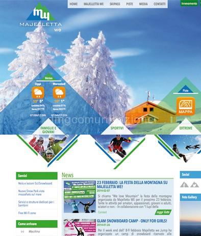 Majelletta We: nuovo sito web