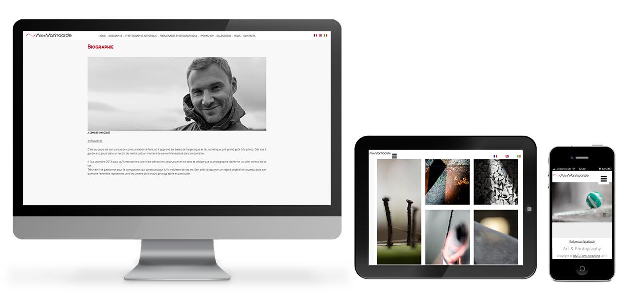 alexandre vanhoorde sito web