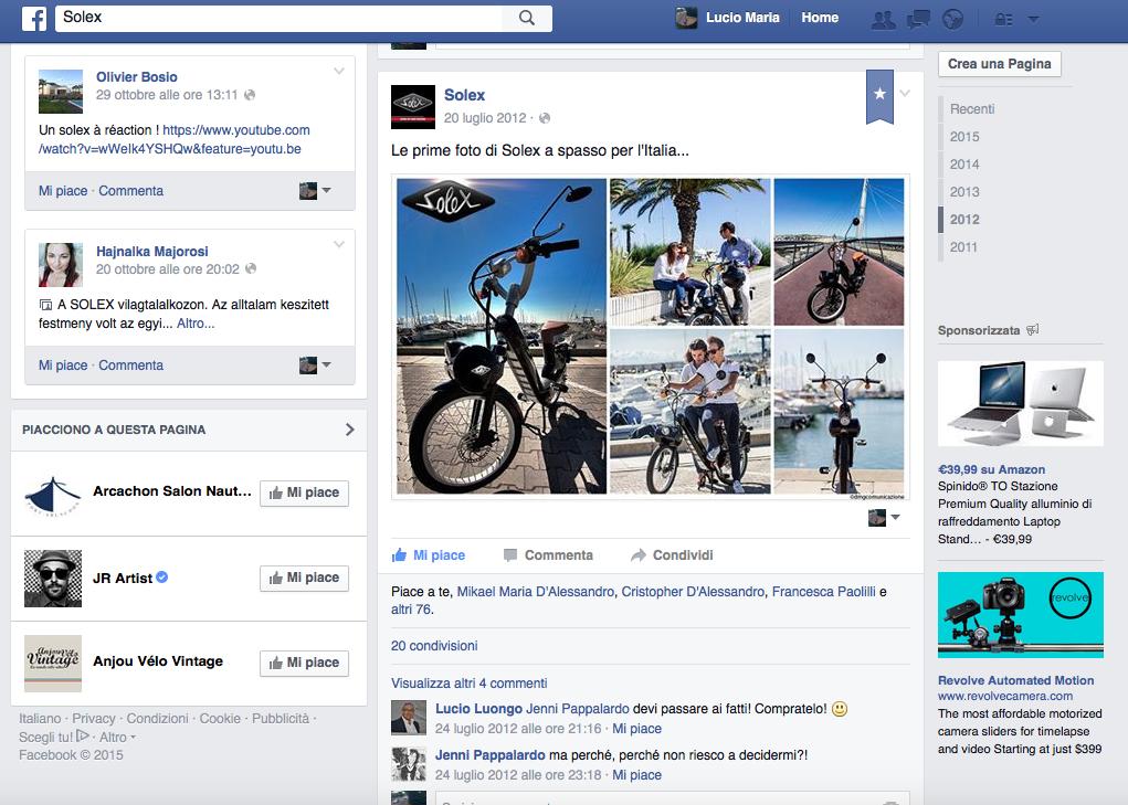 solex facebook