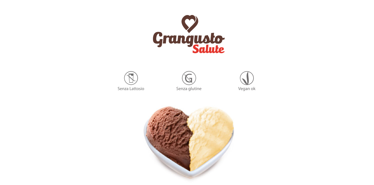 marchio grangusto salute gelato senza lattosio senza glutine