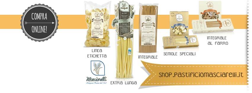 vendita pasta artigianale online